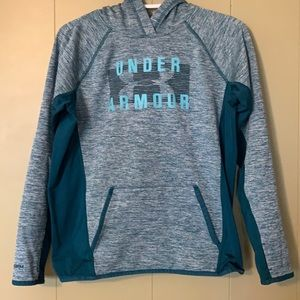 Blue under armour sweater